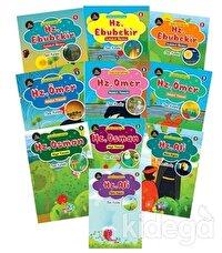 Çocuklar İçin Hikayelerle Dört Halife Hayatı Seti (10 Kitap Takım)