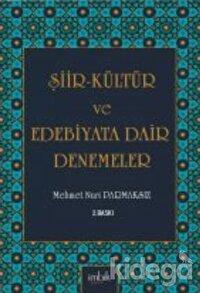 Şiir-Kültür ve Edebiyata Dair Denemeler