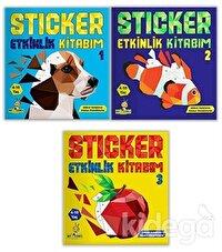 4-10 Yaş Sticker Etkinlik Kitabım Seti