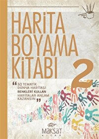 Harita Boyama Kitabı 2