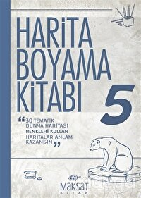 Harita Boyama Kitabı 5