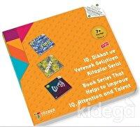 7+ Yaş Seti Level 2 - IQ, Dikkat ve Yetenek Geliştiren Kitaplar Serisi