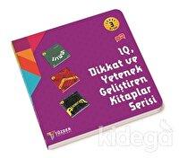 IQ Dİkkat ve Yetenek Geliştiren Kitaplar Serisi Level 3 (3 Kitap Takım) 5+ Yaş