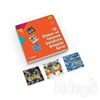 IQ Dikkat ve Yetenek Geliştiren Kitaplar Serisi Level 1 (7-8-9 Yaş) (3 Kitap Takım)
