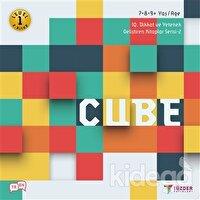 Cube - IQ Dikkat ve Yetenek Geliştiren Kitaplar Serisi 2 (Level 1) (7-8-9 Yaş)