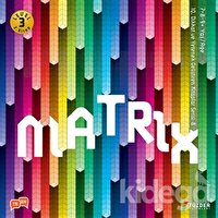 Matrix - IQ Dikkat ve Yetenek Geliştiren Kitaplar Serisi 8 (Level 3) (7-8-9 Yaş)