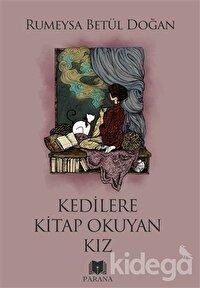 Kedilere Kitap Okuyan Kız