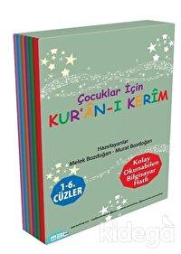 Çocuklar İçin Kur'an-ı Kerim 1 -  6. Cüzler (6 Kitap Takım)