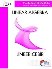 Linear Algebra - Lineer Cebir