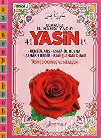 41 Yasin Türkçe Okunuş ve Mealleri Kod: F035 (Fihristli Cami Boy)