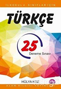 İlkokul 4. Sınıflar İçin 25 Türkçe Deneme Sınavı
