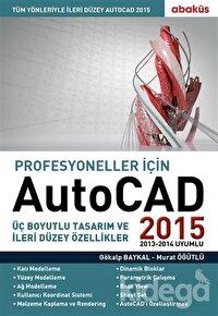 Profesyoneller için Autocad 2015
