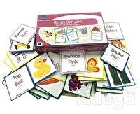 Etkin Zeka Oyunları - Renkli Dünyam Resimli İlk Sözcüklerim