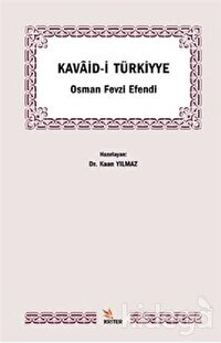Kavaid-i Türkiyye