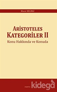 Aristoteles Kategoriler 2