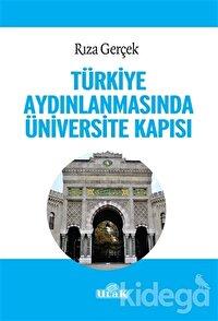 Türkiye Aydınlanmasında Üniversite Kapısı