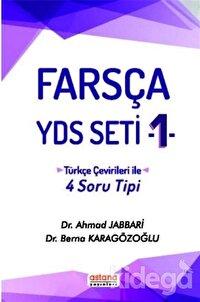 Farsça YDS Seti 1 - Türkçe Çeviri ile 4 Soru Tipi