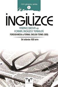 İngilizce Yabancı Medya ve Formal İngilizce Terimleri