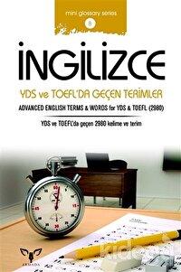İngilizce YDS ve TOEFL'da Geçen Terimler