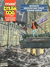 Dylan Dog Maxi 1. Albüm 3 Tam Macera : Meteoropati / Hurlington'ların Yeteneği / Uçurumun Sakinleri