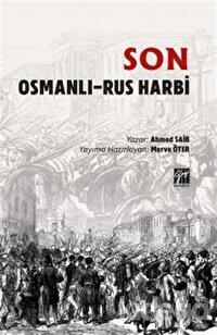 Son Osmanli - Rus Harbi