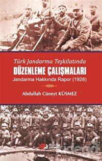 Türk Jandarma Teşkilatında Düzenleme Çalışmaları