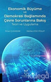 Ekonomik Büyüme ve Demokrasi Bağlamında Çevre Sorunlarına Bakış Teori ve Uygulama