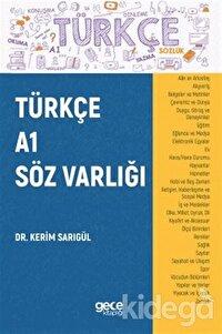 Türkçe A1 Söz Varlığı