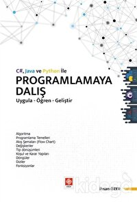 C# Java ve Python ile Programlamaya Dalış