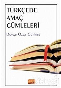 Türkçede Amaç Cümleleri