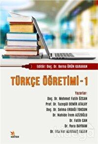 Türkçe Öğretimi - 1