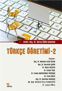 Türkçe Öğretimi - 2