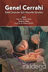 Genel Cerrahi - Sözlü Sınavlar İçin Hazırlık Soruları