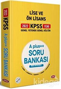 2022 KPSS Genel Yetenek Genel Kültür Lise ve Ön Lisans A Plus++ Soru Bankası