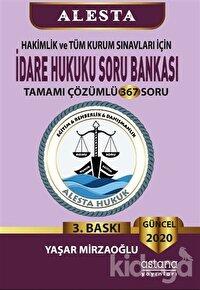 2020 Hakimlik ve Tüm Kurum Sınavları İçin İdare Hukuku Soru Bankası Tamamı Çözümlü 367 Soru