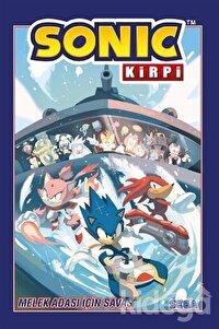 Melek Adası İçin Savaş - Sonic Kirpi Cilt 3
