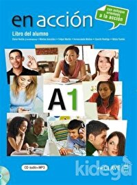 En Accion A1 Libro del Alumno (Ders Kitabı +Audio Descargable) İspanyolca Temel Seviye