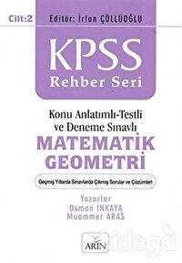 KPSS Rehber Seri - Matematik Geometri Cilt: 2