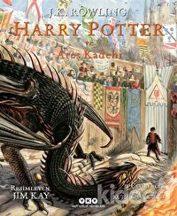Harry Potter ve Ateş Kadehi 4 (Resimli Özel Baskı)