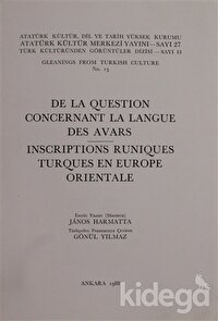 De La Question Concernant La Langue Des Avars