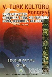 5. Türk Kültürü Kongresi Cilt : 14