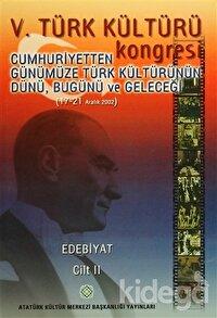 5. Türk Kültürü Kongresi Cilt : 2