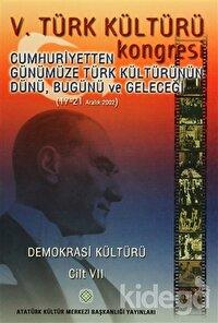 5. Türk Kültürü Kongresi Cilt : 7
