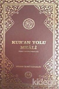 Kur'an Yolu Meali (Hafız Boy Bilgisayar Hatlı)