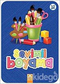 Sevimli Boyama (Lacivert)