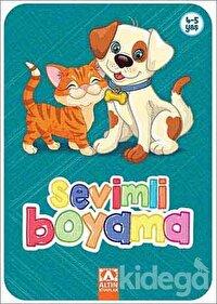 Sevimli Boyama (Turkuaz)