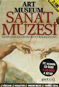Art Museum Sanat Müzesi Seti (4 Kitap Takım + 4 CD ROM)