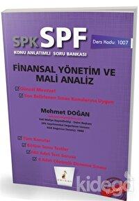SPK - SPF Finansal Yönetim ve Mali Analiz Konu Anlatımlı Soru Bankası
