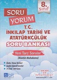8. Sınıf Soru Yorum T.C. İnkılap Tarihi ve Atatürkçülük Soru Bankası