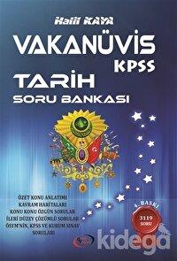 Vakanüvis KPSS Tarih Soru Bankası